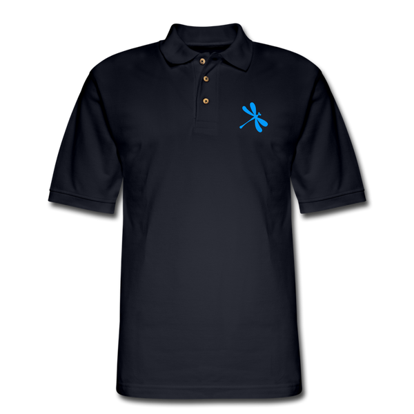 Boosted Men's Pique Polo Shirt - midnight navy
