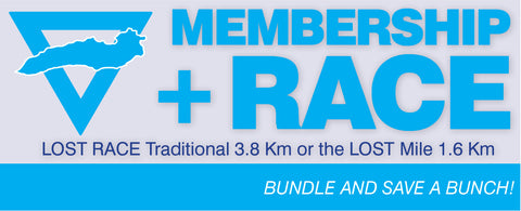 Annual Membership + LOST Race or LOST Mile (before July 1st)