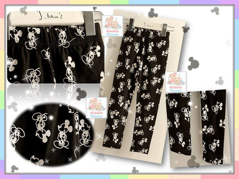 SALES: Mickey Long Legging (BLACK) [SUMMER_L031]