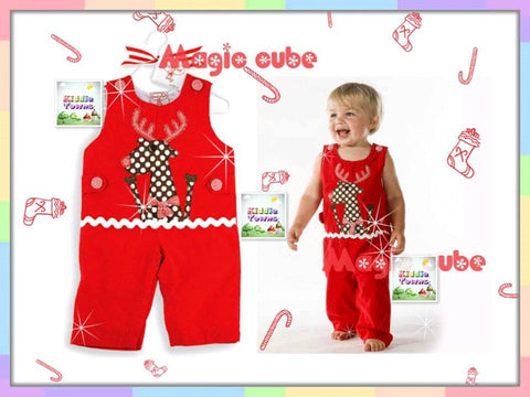 SALES: Red Reindeer Long Jumper [MERRY_RP_02]