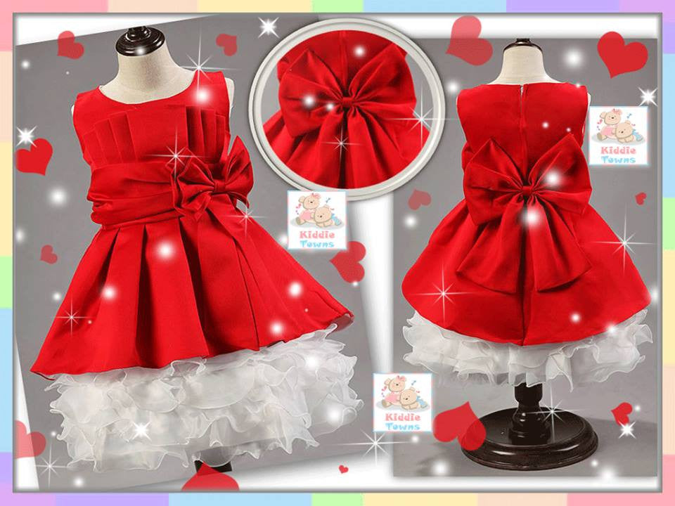 SALES: Princess Layer Cake Gown (RED) [PRETTY_PRINCESS_20]