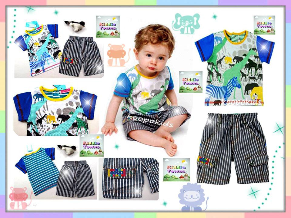 SALES: Boyset Animal Safari 2pcs Set (Tee + Pant) [BOYSET_SAFARI]