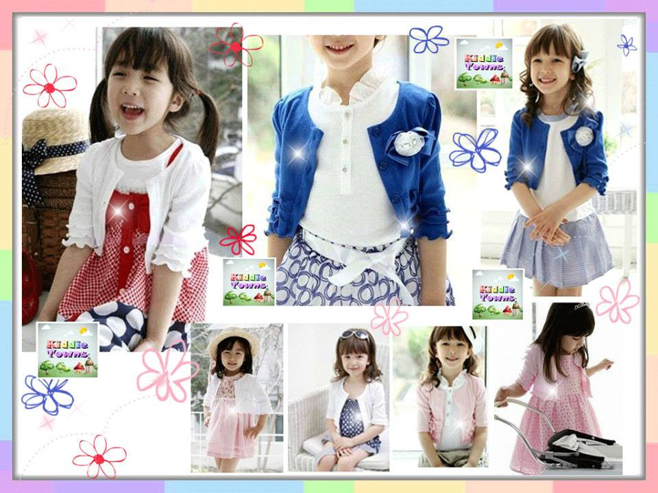 READY STOCK: Princess Layer Sleeve Cardigan with Chest Flower [GIRLTOP_03]