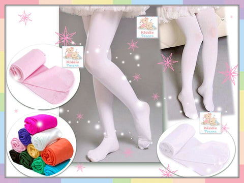 READY STOCK: Girl Plain Legging Sock Covered Foot [KIDS_LACE_LG05]
