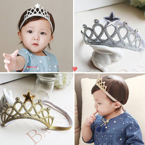 READY STOCK: Baby Crown Headband [BAND_RS_05]