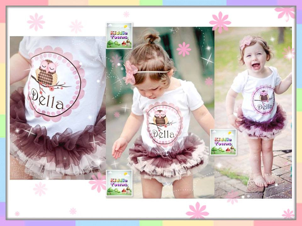 READY STOCK: Della Duo Color Tutu Romper [TutuGirl_101]