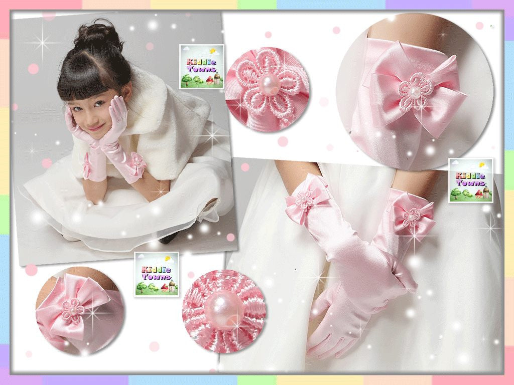 Princess Silk Gloves (PINK) [PRETTY_GLOVES]