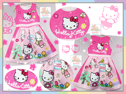SALES: Sweet Home Beautiful Kitty Dress (HELLO KITTY) (PINK) [GIRL_DSNY_47]