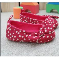PREWALKER G*P Polka Dots Red Shoes [SHOES_G032]