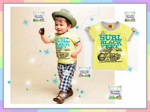 SALES: Boy Set Motorbike (YELLOW) [RP_BOYSET_11]