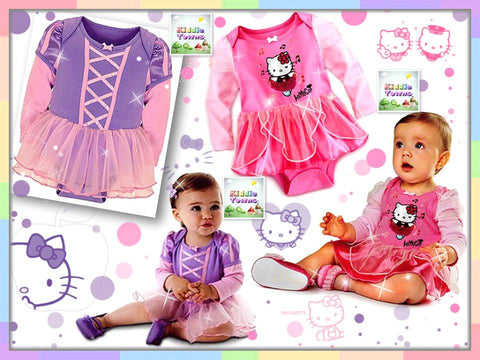 READY STOCK: Princess and Kitty Tutu Dress Romper [WAWA_PRINCESS_02]