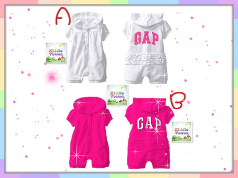 READY STOCK: GA*P Girl Girl Romper [WAWA_006]