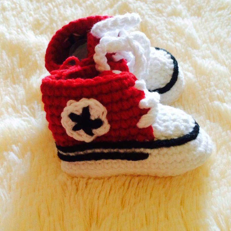 PREWALKER Converse Knitted Shoes [SHOES_G09]