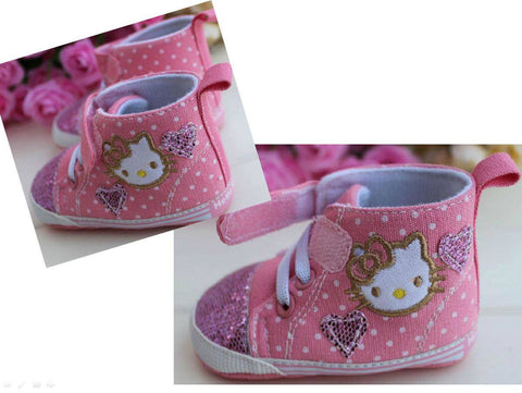PREWALKER HelloKitty Love Pink Shoes [SHOES_G018]