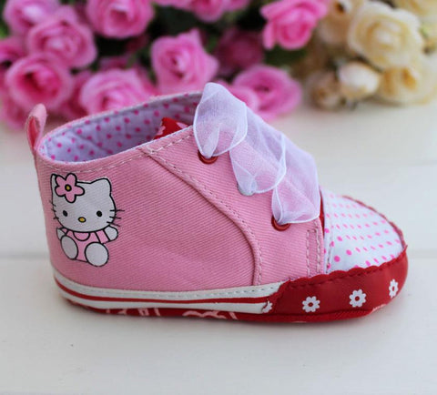 PREWALKER HelloKitty Pink Shoes [SHOES_G017]
