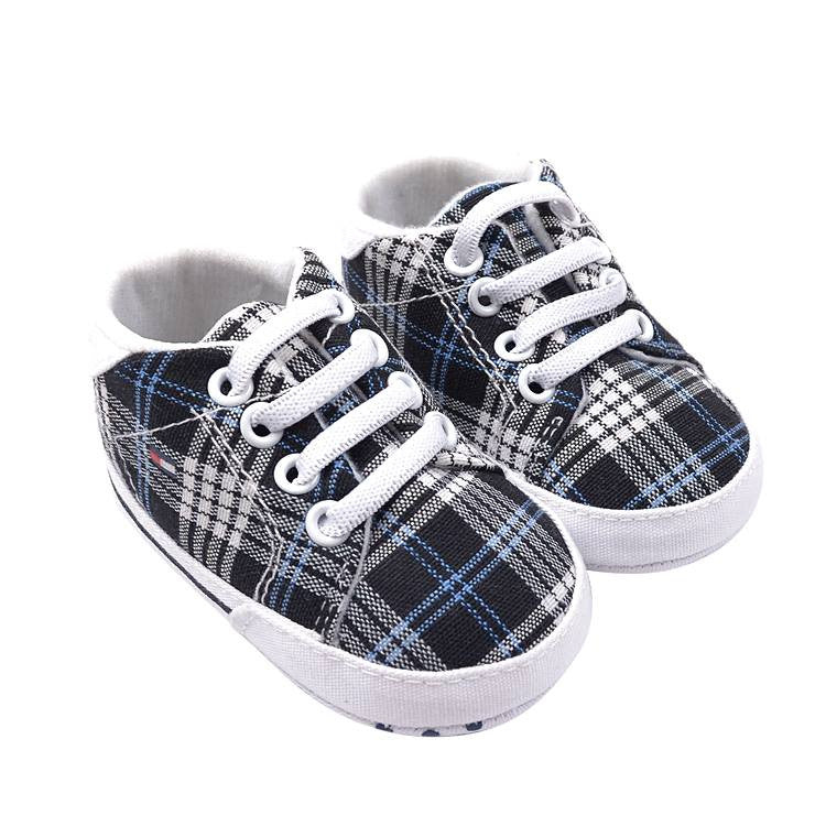 PREWALKER Tommy Checkered Shoes [SHOES_B06]