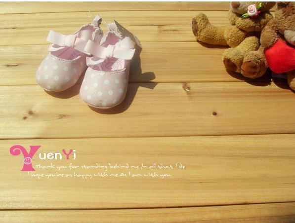 PREWALKER MotherC*re Pink Polka Dots Shoes [SHOES_G040]