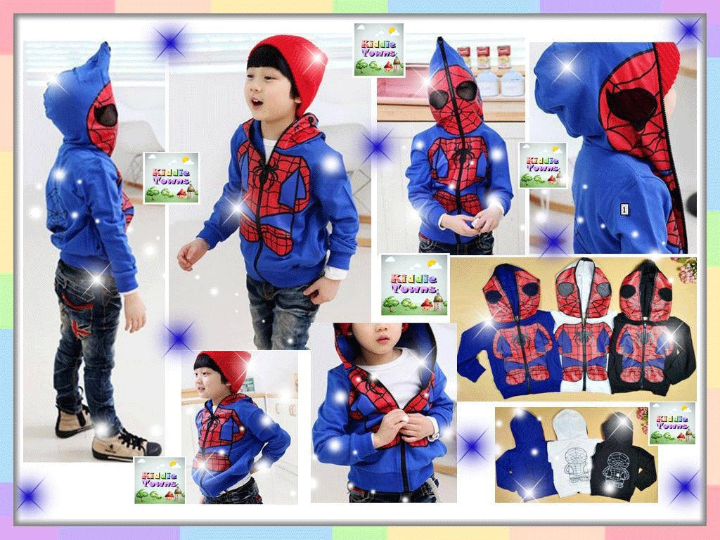 READY STOCK: Hoodies Jacket Spiderman [JACKET_01]