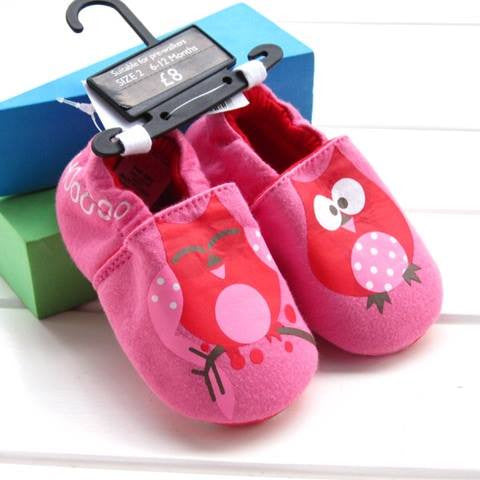 PREWALKER MotherC*re Owl Shoes (PINK) [SHOES_G018_A]