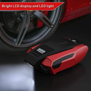 Portable Air Compressor Pump - Digital Tire Inflator