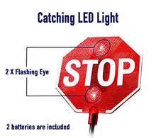 Load image into Gallery viewer, Cobra Tuning LED Stop Sign Parking Assistant for Garage with Flashing Signal