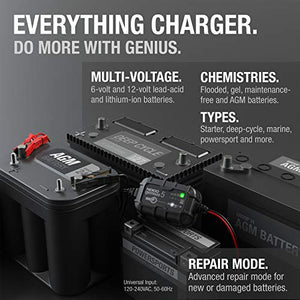 5-Amp Fully-Automatic Smart Battery Charger