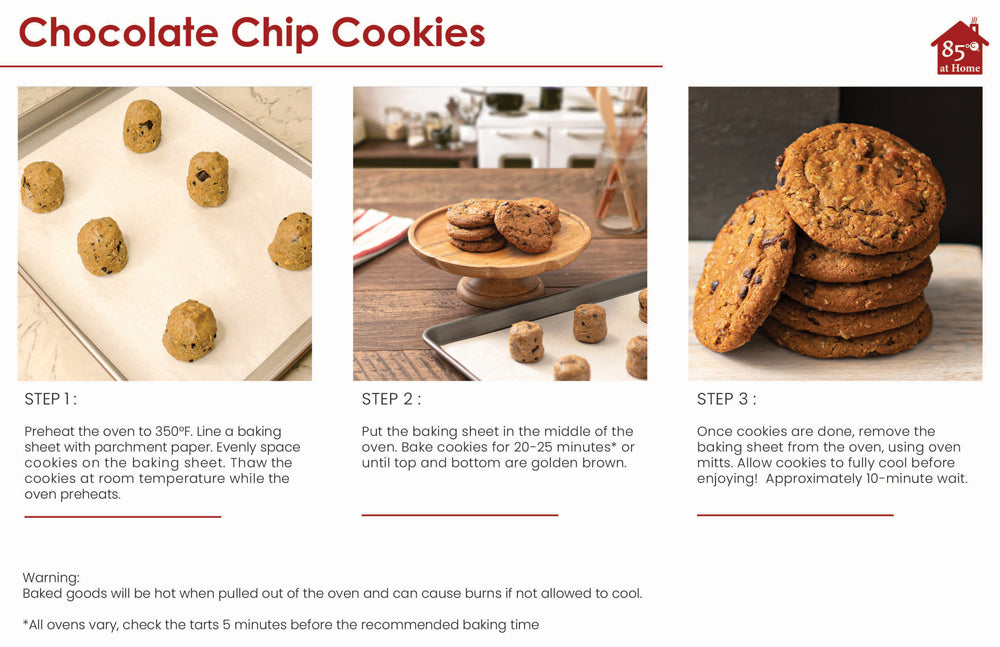 Chocolate Chip Cookies Cooking Instructions Image
