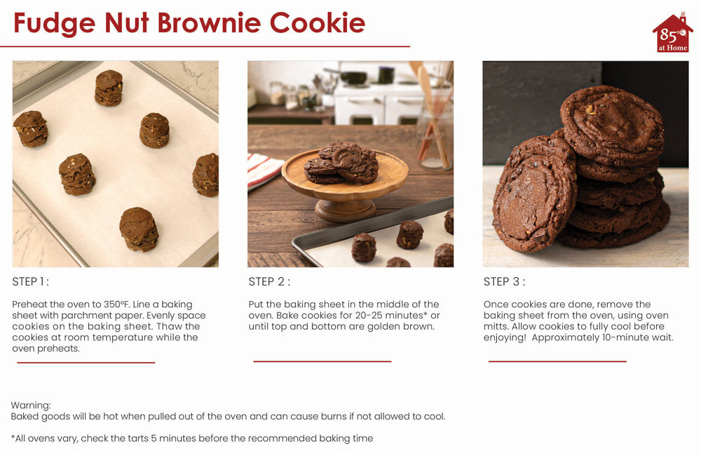 Fudge Nut Cookie Instructions Image