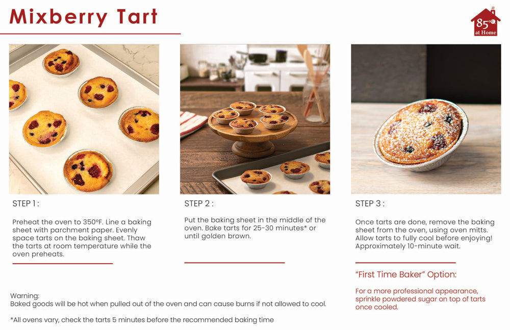 Mixberry Tart Instructions Image