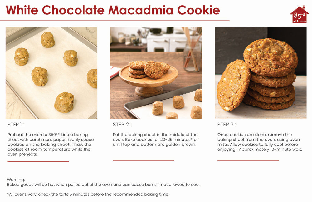 White Chocolate Cookie Instructions Image