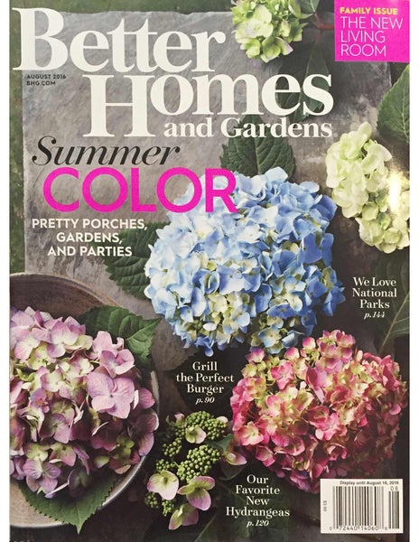 Better Homes Cover August 2016