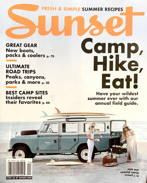Sunset Cover May/June