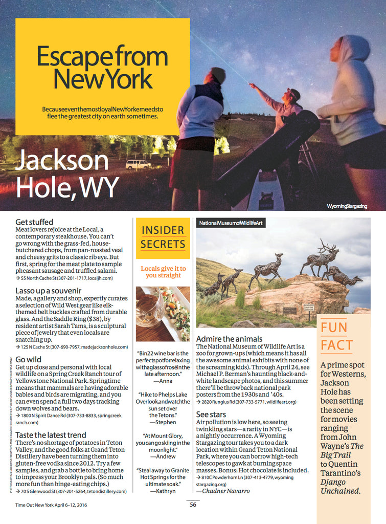 Time Out New York - Jackson Hole