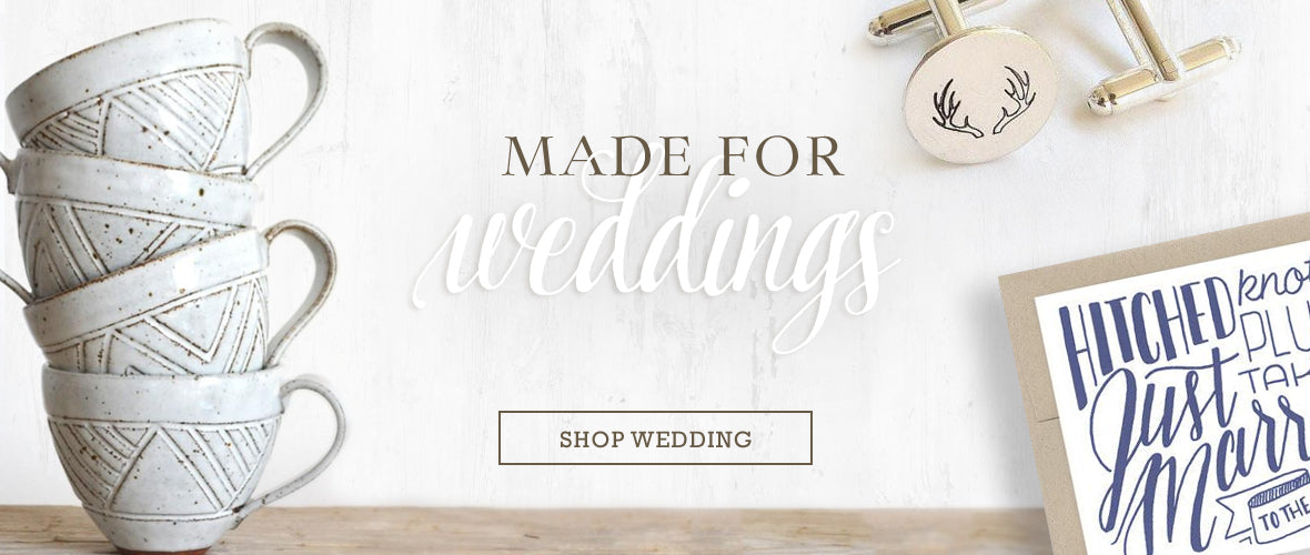Shop MADE Wedding Registries