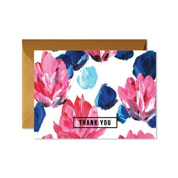 Floral Thank You Box Set
