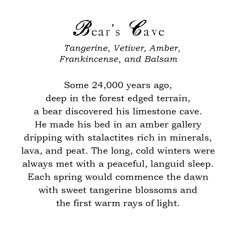 Bear's Cave Candle