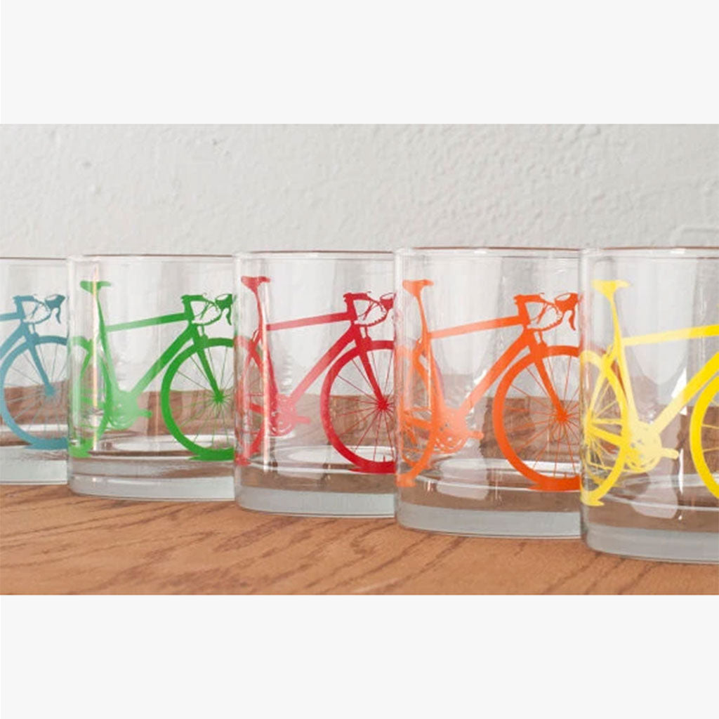 Bike Old Fashioned Glasses
