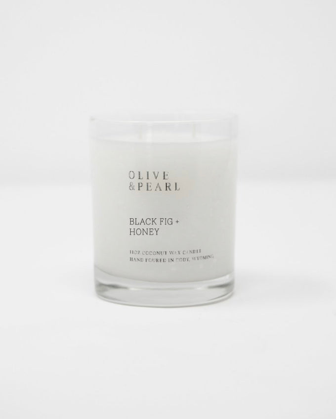 Olive & Pearl Candle - Black Fig + Honey