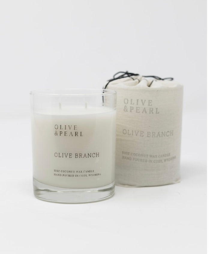 Olive & Pearl Candle - Olive Branch