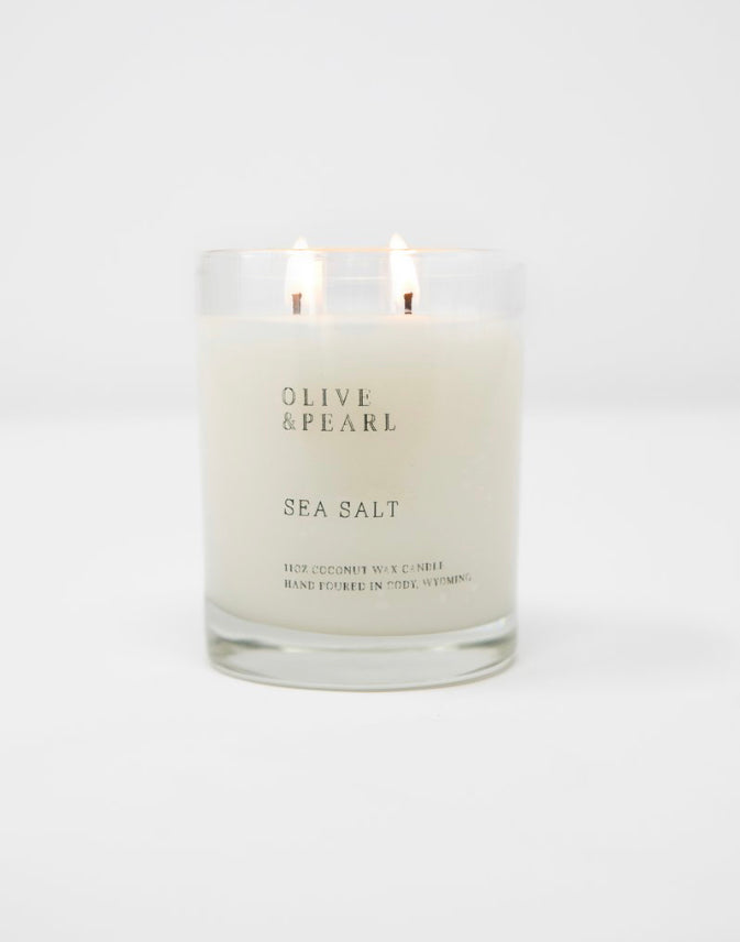 Olive & Pearl Candle - Sea Salt