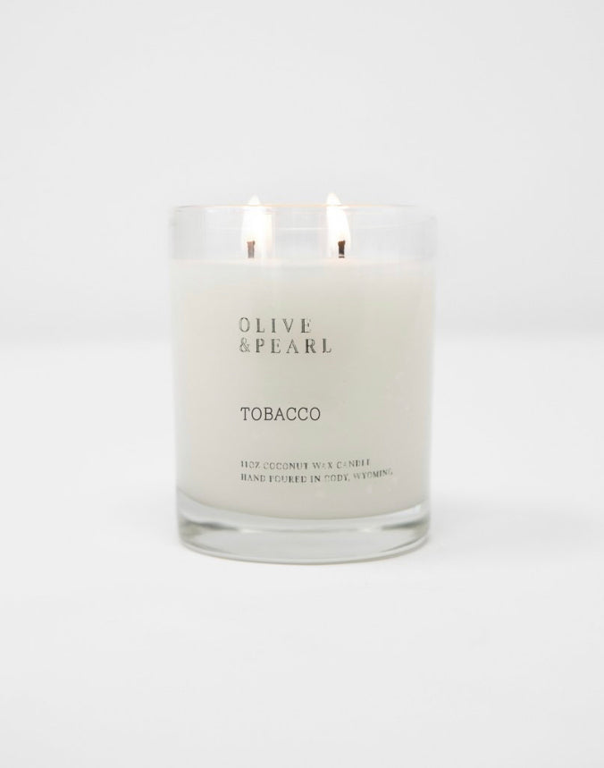 Olive & Pearl Candle - Tobacco