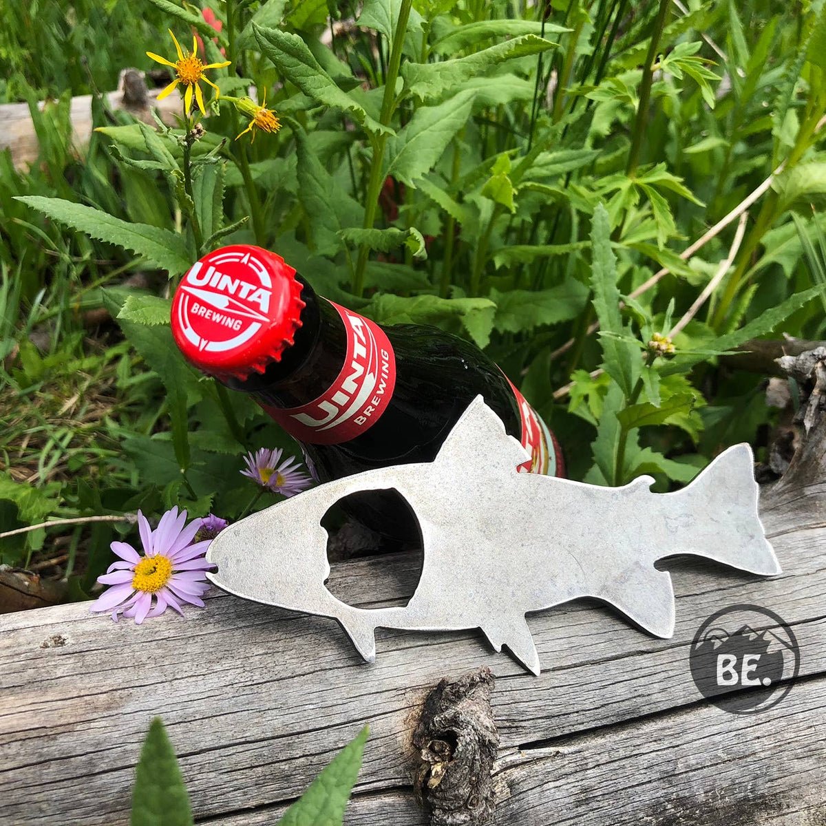 Metal Bottle Opener - Trout