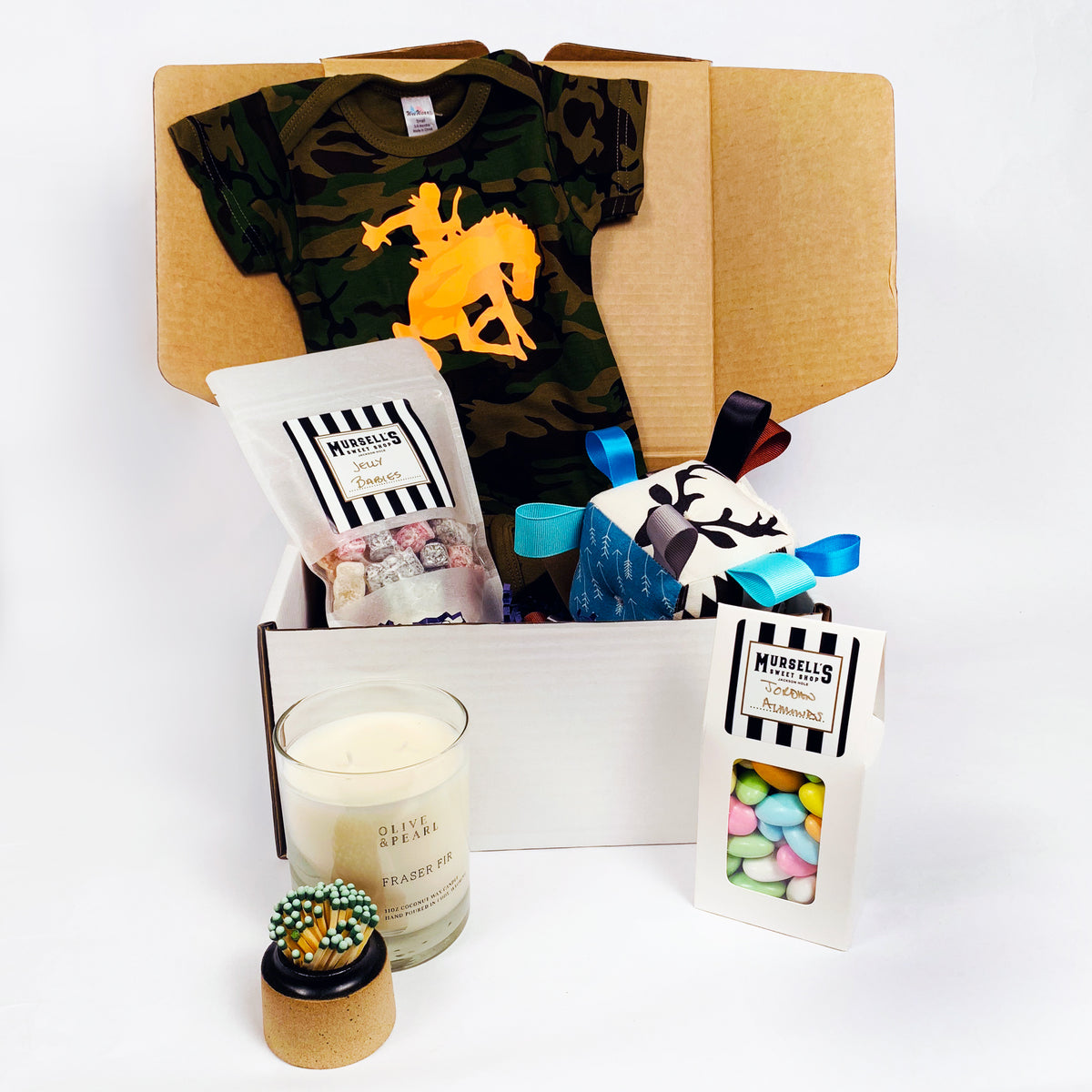 The Wyoming Baby Gift Basket