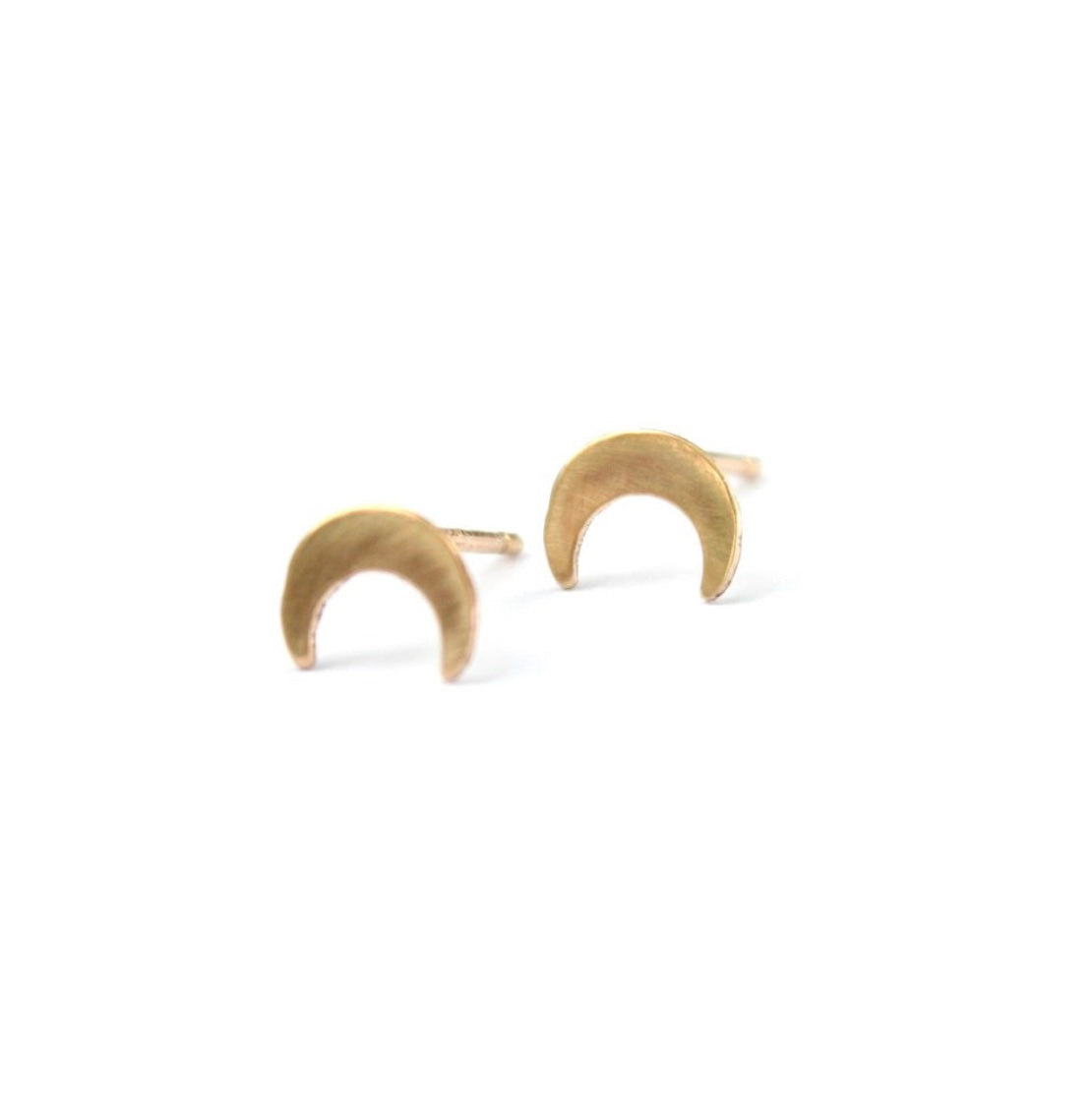 Over the Moon Post Earrings