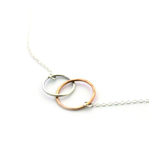 Kissing Circles Necklace