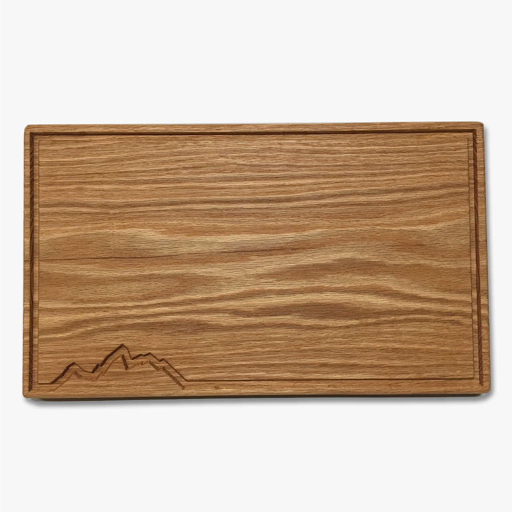 Red Oak Teton Cutting/Serving Board