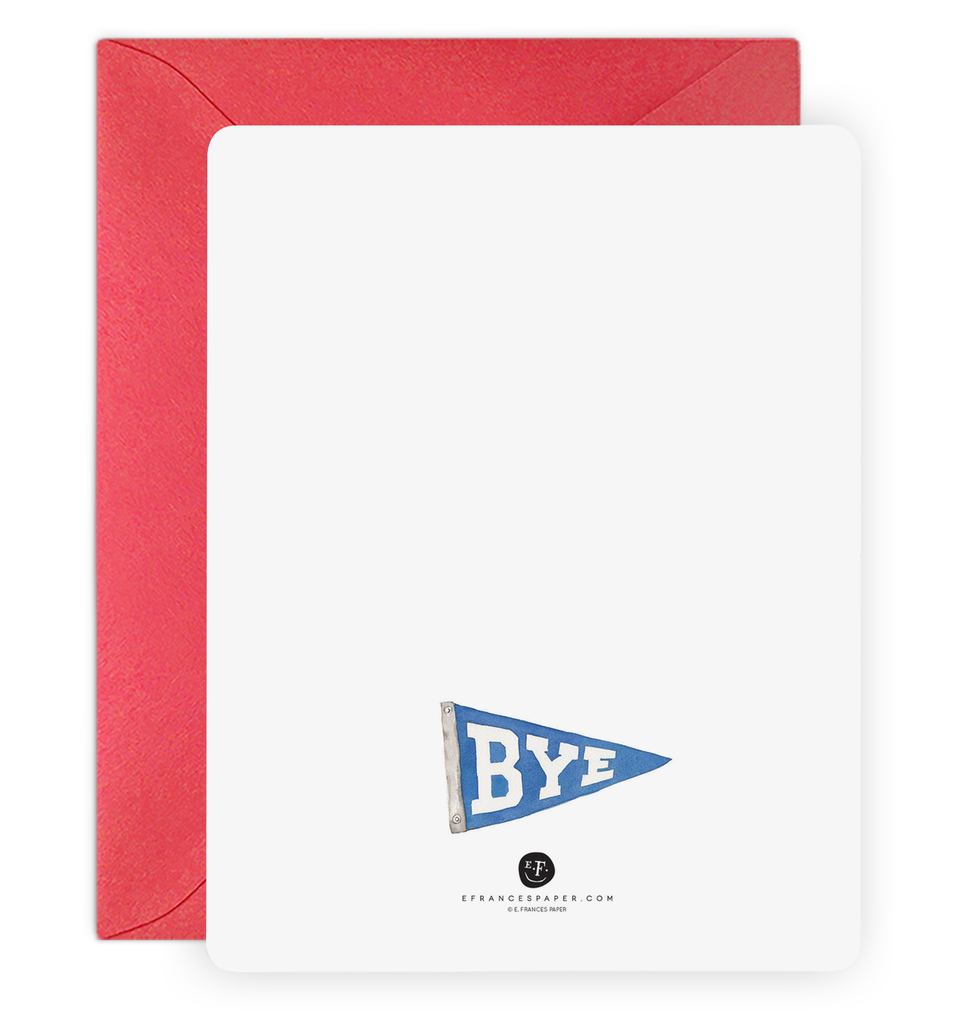 Hi Pennant Notecard Set