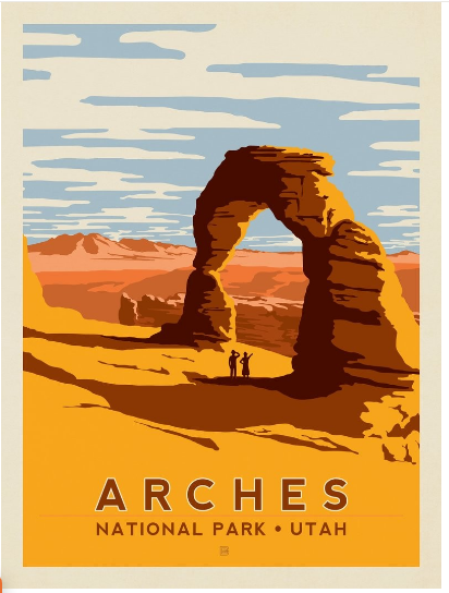 Arches National Park Print: Delicate Arch