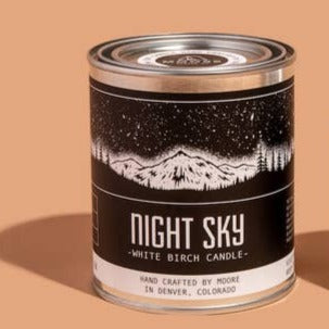 Night Sky Candle