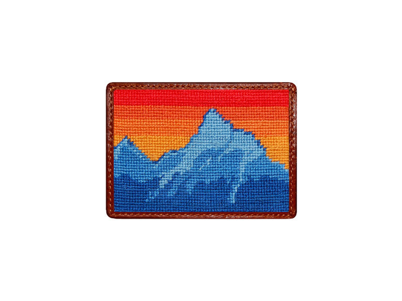 Teton Needlepoint Card Wallet
